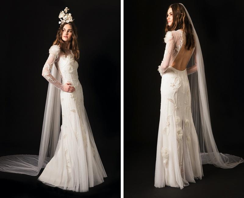 Wedding dress collection: Temperley London Spring 2020