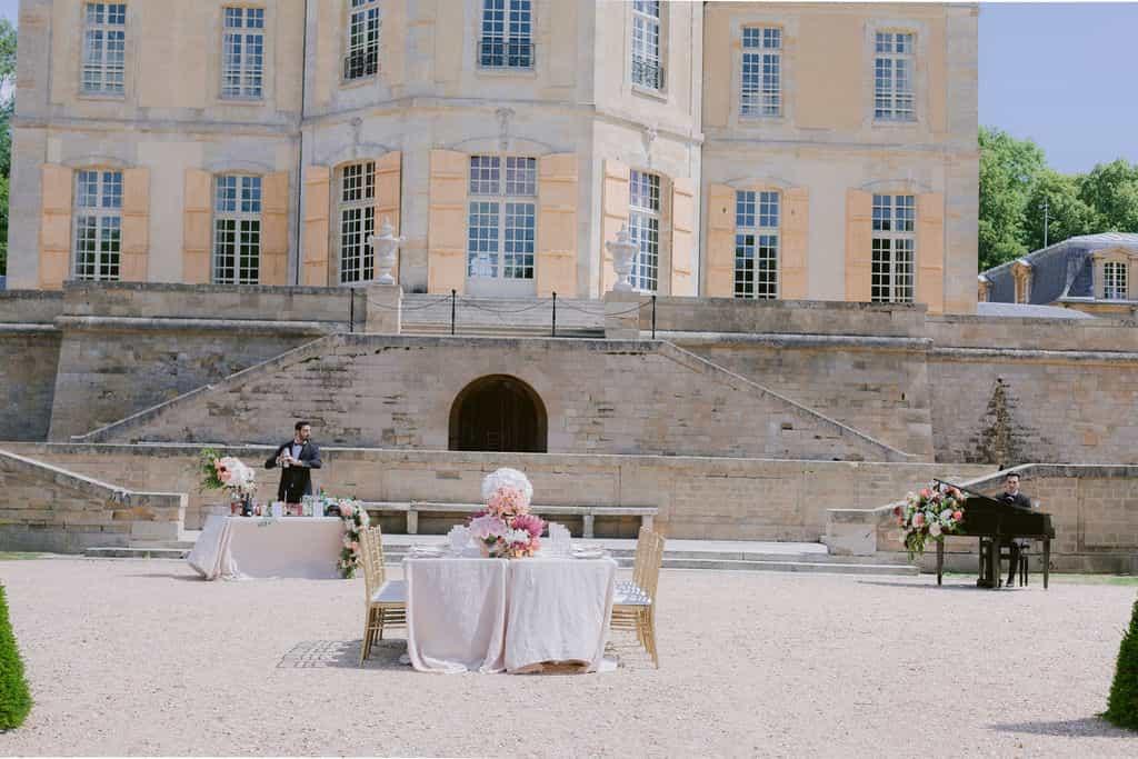 Laid-Back Luxury Wedding In Château de Villette