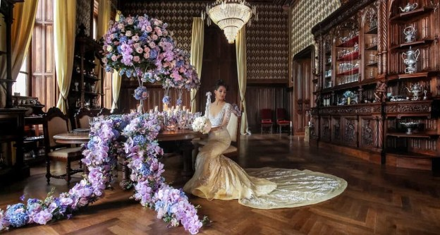 Once Upon a Fairytale At Chateau Challain In France