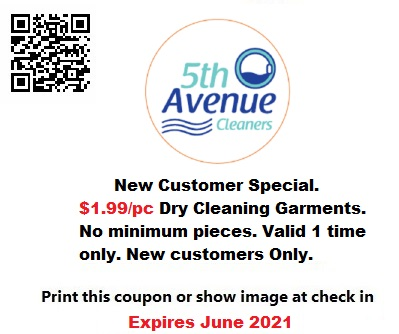 $1.99 dry cleaner coupon