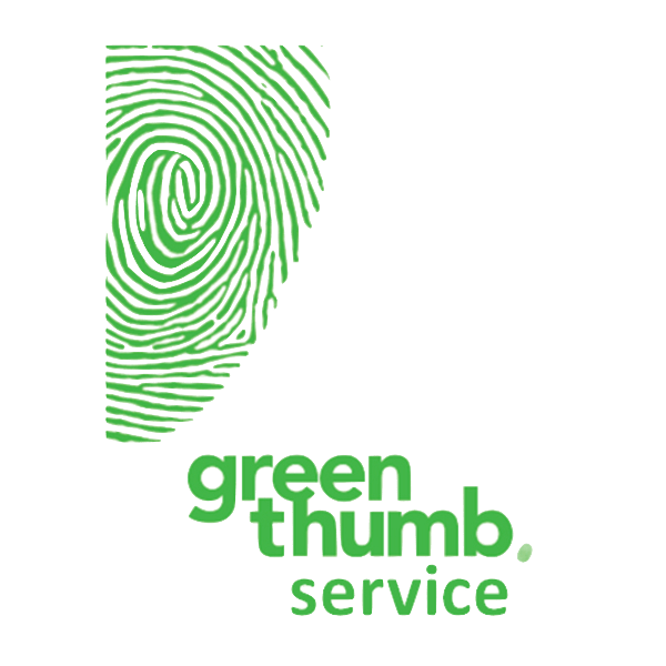 logo vert avec empreinte
