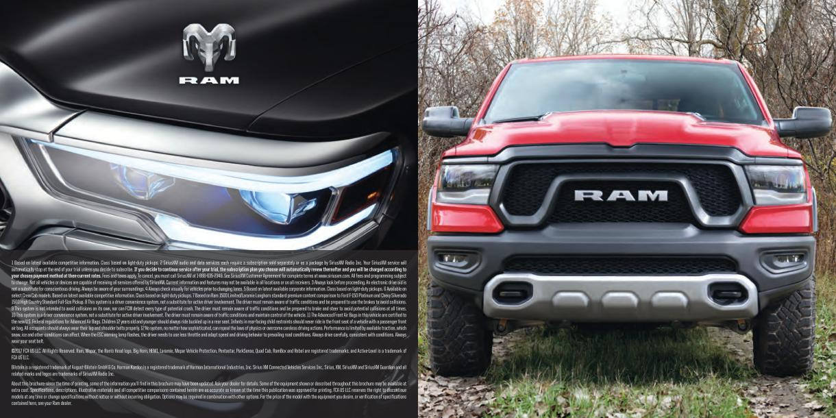 2019 Ram 1500 brochure