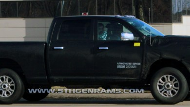 Photo of 2019 Ram HD trucks spied