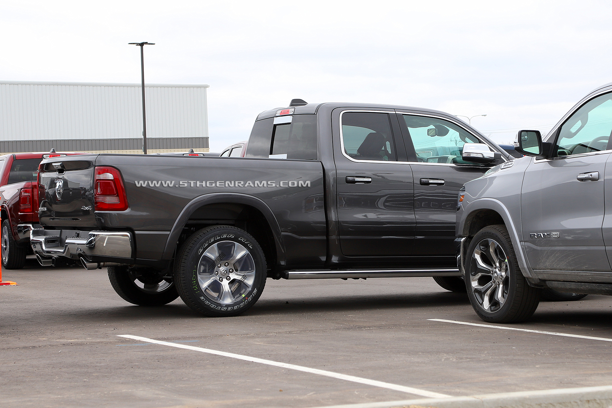 Quad Cabs and Ram Boxes are now in production - 5th Gen Rams