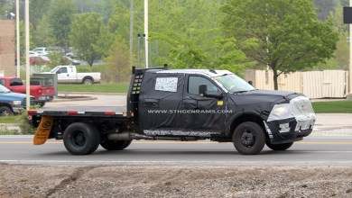 Photo of CAUGHT: 2020 Ram 3500 Chassis Cab Flat Bed: