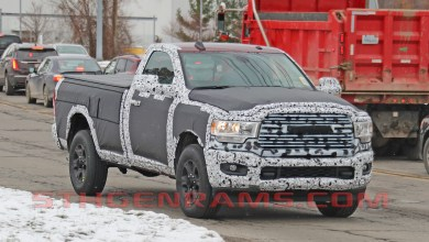 Photo of CAUGHT: 2019 Ram 2500 Big Horn Regular Cab Long Box:
