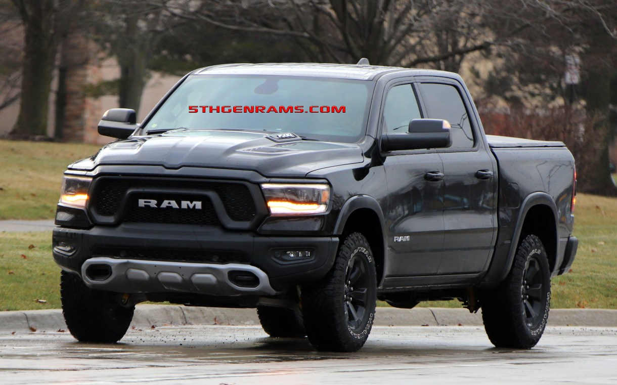 Dodge Ram Ecodiesel >> Caught Ecodiesel 2019 Ram 1500 Rebel On The Streets 5th