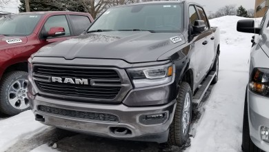 """Photo of 2019 Ram 1500 Named the """"Official Winter Truck of New England"""":"""
