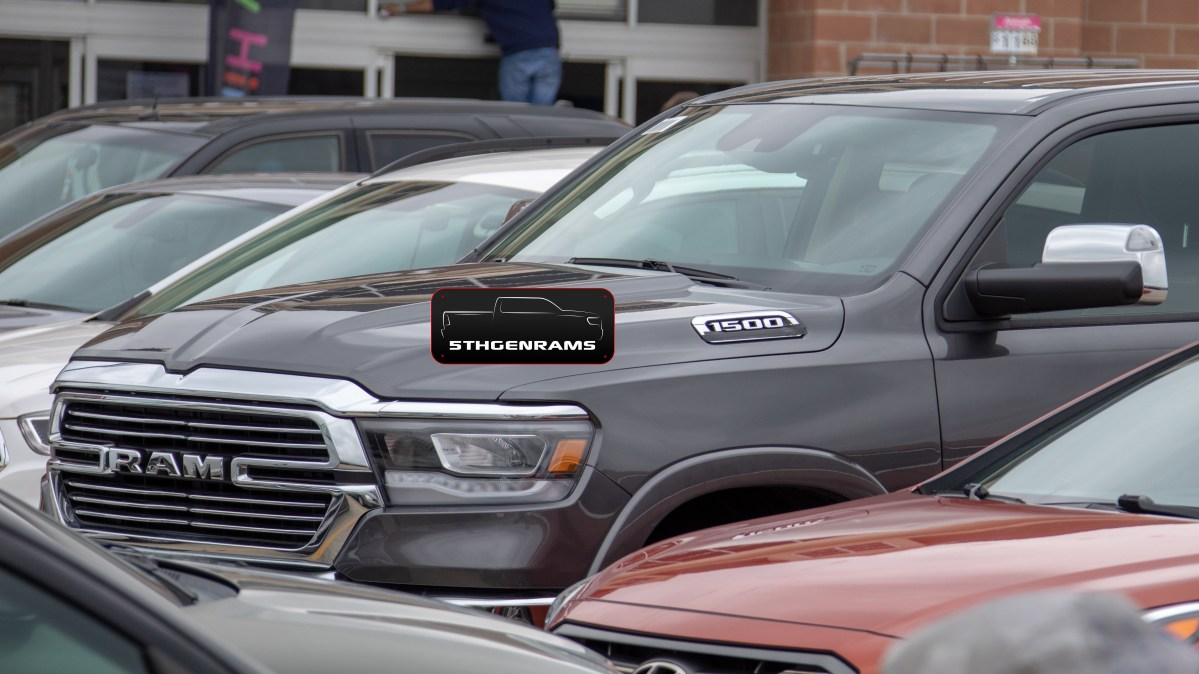 Production-Spec 2020 Ram 1500 EcoDiesel Caught At Local Walmart: