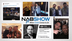 Great to meet-up with folks at NAB 2017!