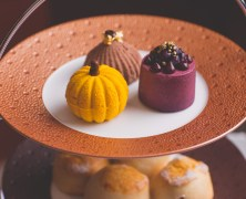 Pumpkin Afternoon Tea, Bohemia, The Club Hotel & Spa, Jersey 2