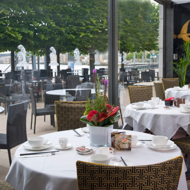 1. Royal China Canary Wharf and Outside Terrace