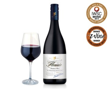 An excellent red wine from ALDI - Fleurie
