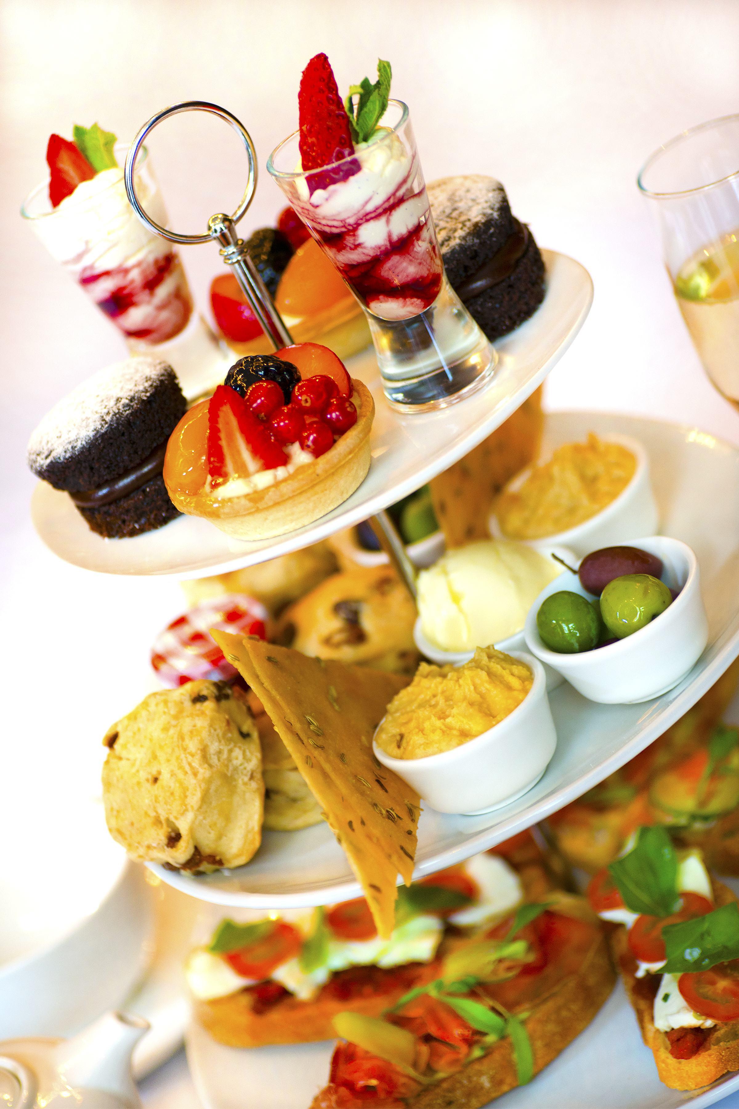 Afternoon tea A