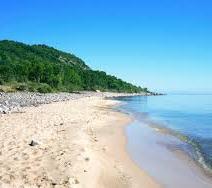 Sandy beaches in Skane
