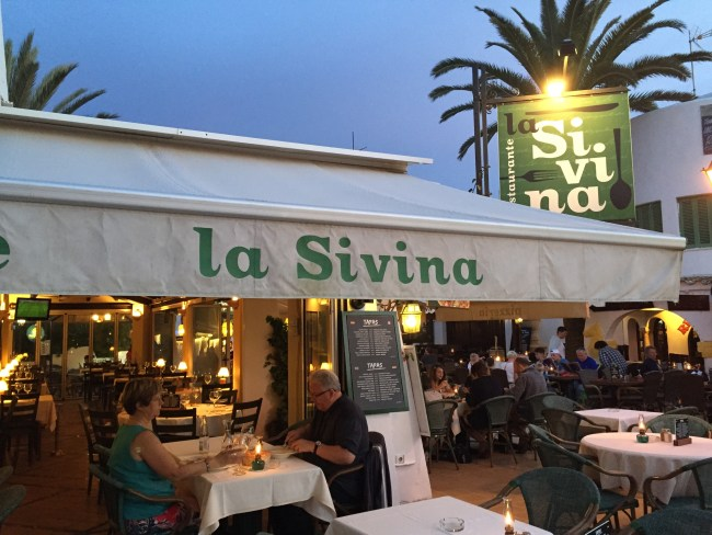 Eating in Cala D'or in Mallorca