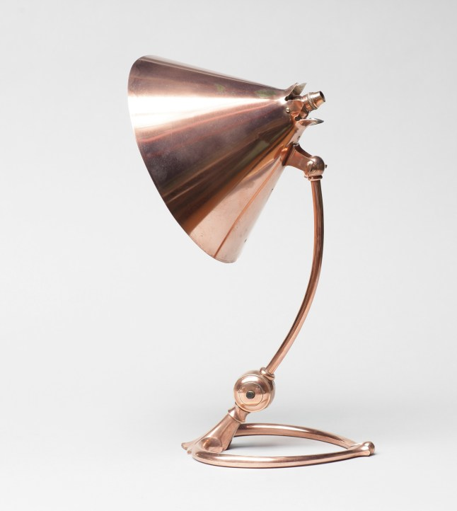 Benson - Lamp. Courtesy of The Fine Art Society London