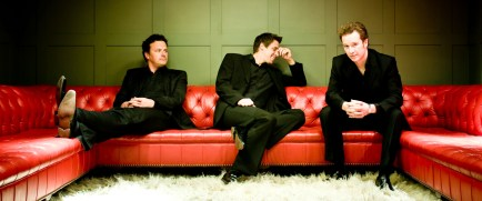 A Tenors Unltd L to R Jem Scott Paul (red sofa)
