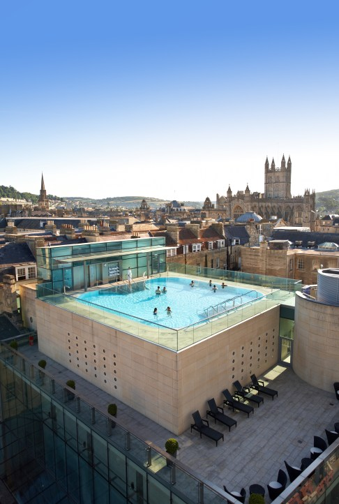 A view of Thermae Bath Spa
