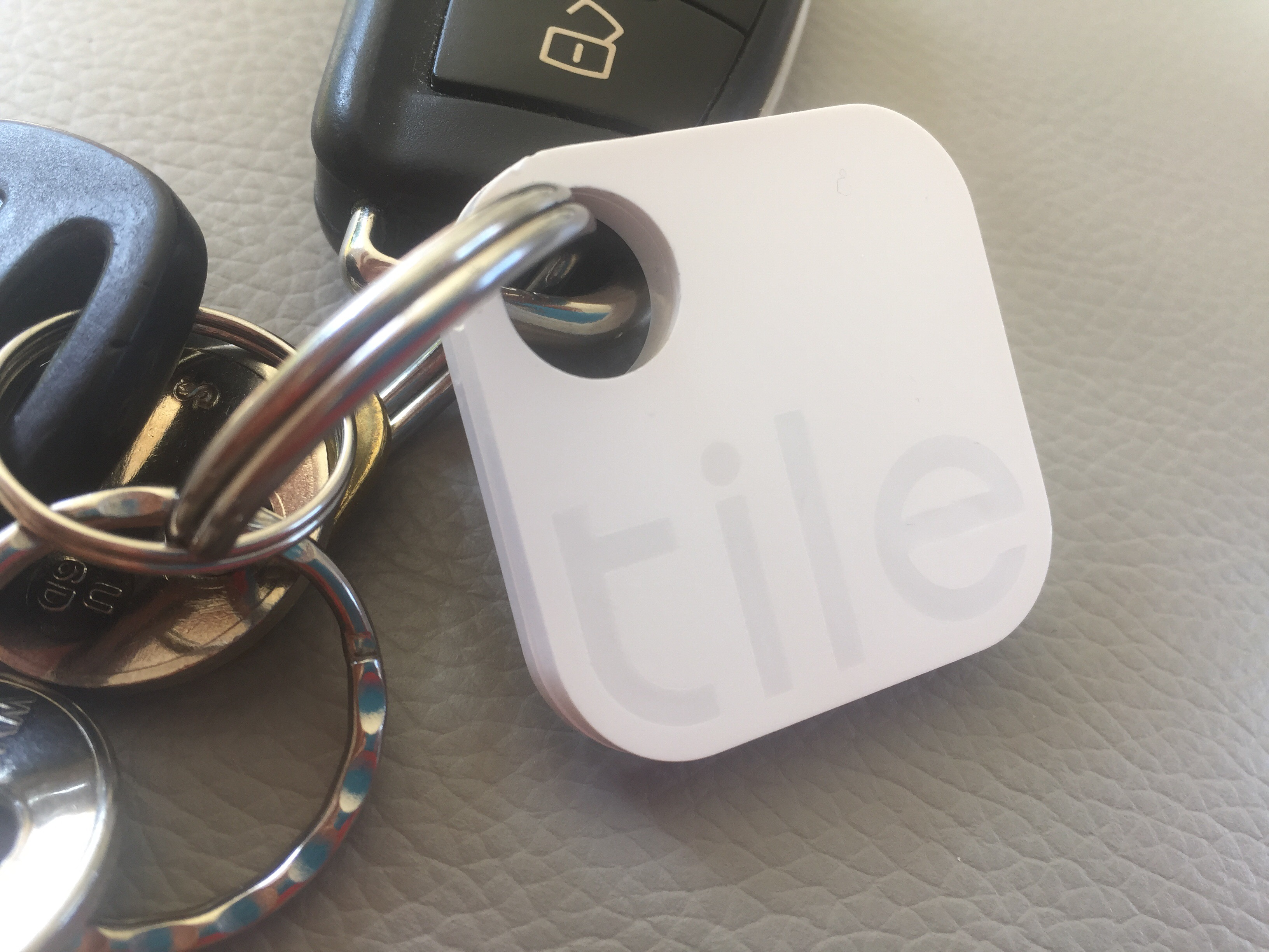 Find your keys using a tile and stay at the park hyatt in mallorca this stylish white tile slips on your key ring and uses bluetooth to connect to your phone lose your keys and locate using your phone ppazfo