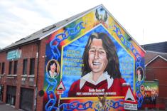 Bobby Sands mural in Belfast