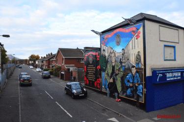 Perished mural Belfast