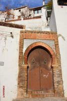 Arabian Door Granada Spain
