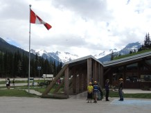 The week ends at the Rogers Pass Visitor Centre.
