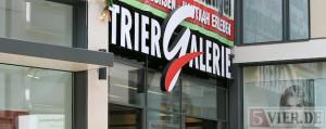 Die Trier Galerie in der Trierer Innenstadt