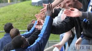 20101016 Bochum II - Eintracht Trier, Fans, Regionalliga West, Foto: Anna Lena Bauer - 5VIER