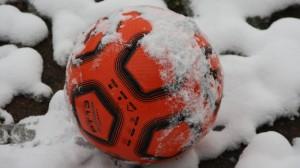 Schnee-Training Eintracht Trier am 30.11.2010