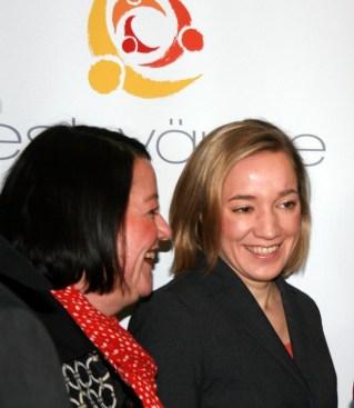 Petra Moske und Kristina Schröder - 5VIER