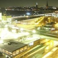 Eine ganz besondere Atmosphäre - Stockholm at night! Foto: Cassandra Arden - 5VIER