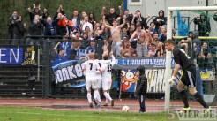 20110403 SchalkeII - SVE, Regionalliga West. Jubel - Fans. Foto: Anna Lena Bauer - 5VIER