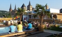 Triers Sky Lounge auf der Dachterrasse des Karstadt in der Simeonstraße. Foto: Andy B. Jones - 5VIER