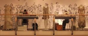 CriscArt-Atelier auf der zweiten Etage im Hochstetter Trier - 5VIER