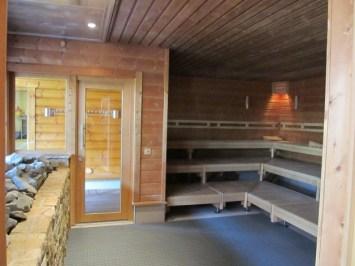 In einer Sauna, Foto: Stefanie Braun - 5VIER
