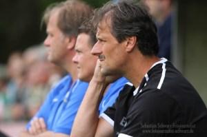 Möchte eine engagierte Eintracht sehen: Trainer Roland Seitz