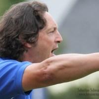 Oberliga Südwest, Eintracht Trier, Trainer Mergens, Foto: Sebastian Schwarz - 5VIER