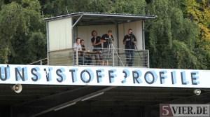 20110904 Fortuna Koeln - Eintracht Trier, Kamerapodest, Regionalliga West, Foto: Anna Lena Bauer - 5VIER