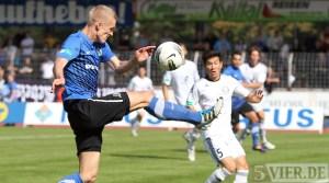 In Trier hatte Elversberg das Nachsehen. Mit dem neuen Trainer gab es nun zum Einstand ein 0:0 gegen Wiedenbrück. - 5VIER