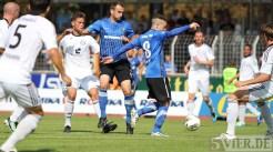 20110924 Eintracht Trier - Elversberg, FAZ Abelski, Regionalliga West, Foto: Anna Lena Grasmueck - 5VIER