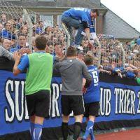 Fans von Eintracht Trier. Foto: SCT - 5VIER