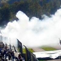 Koblenz gegen Trier, Rauch im Eintracht-Block; Pyrotechnik, Fans; Foto: Andreas Gniffke - 5VIER