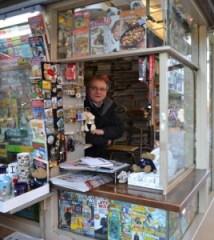 Schneiders Kiosk am Haupftmarkt. Foto: Eva Schabbach