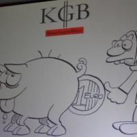 Kunst gegen Bares - Logo. Foto: 5vier - 5VIER