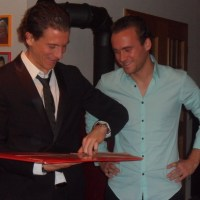 Daniel Bauer und Tobias Bauer, Eintracht Trier und TuS Koblenz. Foto: Privat - 5VIER