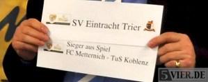 Trier gegen Koblenz schon im Viertelfinale