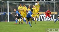 20120425 Pokal Eintracht Trier-TuS Koblenz, Tor, Freistoß, Bitburger Rheinlandpokal, Viertelfinale, Foto: Anna Lena Grasmueck - 5VIER