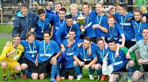 Titelverteidigung? Bereits letztes Jahr gewann die U19 des SVE den Rheinlandpokal
